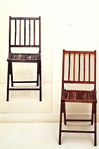 These1-2 Joseph Kosuth - one and three chairs 1965