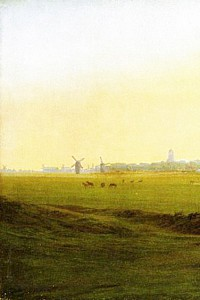 These1-3 Caspar David Friedrich Wiesen vor Greifswald