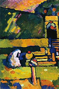 These1-4 Kandinsky Wassily Arabischer Friedhof 1909