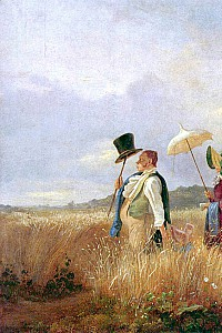 These2-3 Carl Spitzweg Sonntagsspaziergang 1841