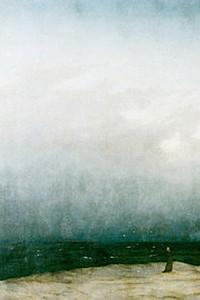 These3-1 Caspar David Friedrich Moench und Meer