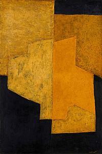 These4-1 Serge Poliakoff Gelb und Schwarz 1952