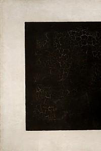 These4-3 Kasimir Malewitsch schwarzes Quadrat auf weissem Grund 1923