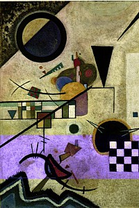 These4-4 Wassily Kandinsky - Contrasting Sounds 1924