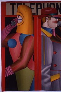 These2 Richard Lindner - After Telephone 1963