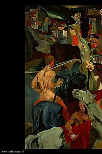 These3-Renato Guttoso - Kreuzigung 1941