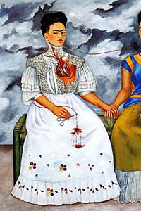 These1-4 Frida Kahlo - le due frida 1953