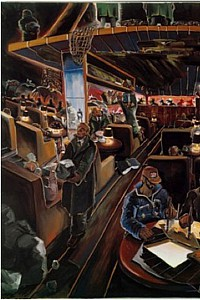 These2-2 Joerg Immendorf-Cafe Deutschland 1978