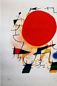 These2-4 Joan Miro - soleil rouge 1972