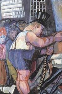 These4-3 Otto Dix Grosse Kreuzaufrichtung 1962