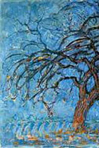 These1-2 Mondrian Roter Baum 1908