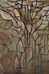 These1-4 Mondrian Baum