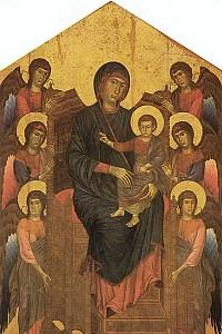 These1-2 Cimabue Maria mit Engeln 1280