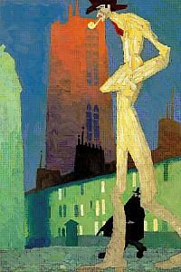 These2-5 Feininger Lyonel Der weisse Mann 1907