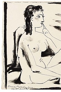 These1-4 Pablo Picasso - Schlaeferin 1974