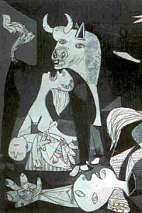 These2-1 Pablo Picasso  - Guernica 1937