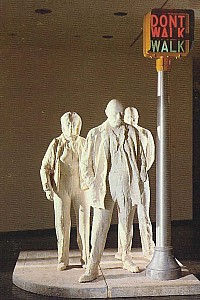 These2-3 George Segal - Walk Dont Walk 1976