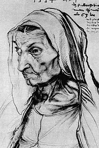 These3-1 Albrecht Duerer - Mutter 1514