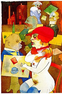 These3-4 George Grosz - Schoenheit 1919