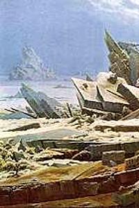 These4-1  C D Friedrich - Eismeer 1821
