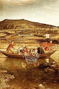 These4-2 Konrad Witz - Fischzug Petri 1444